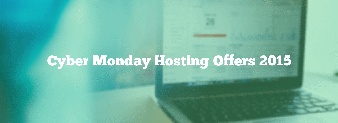 Cyber Monday Hosting Offers 2015